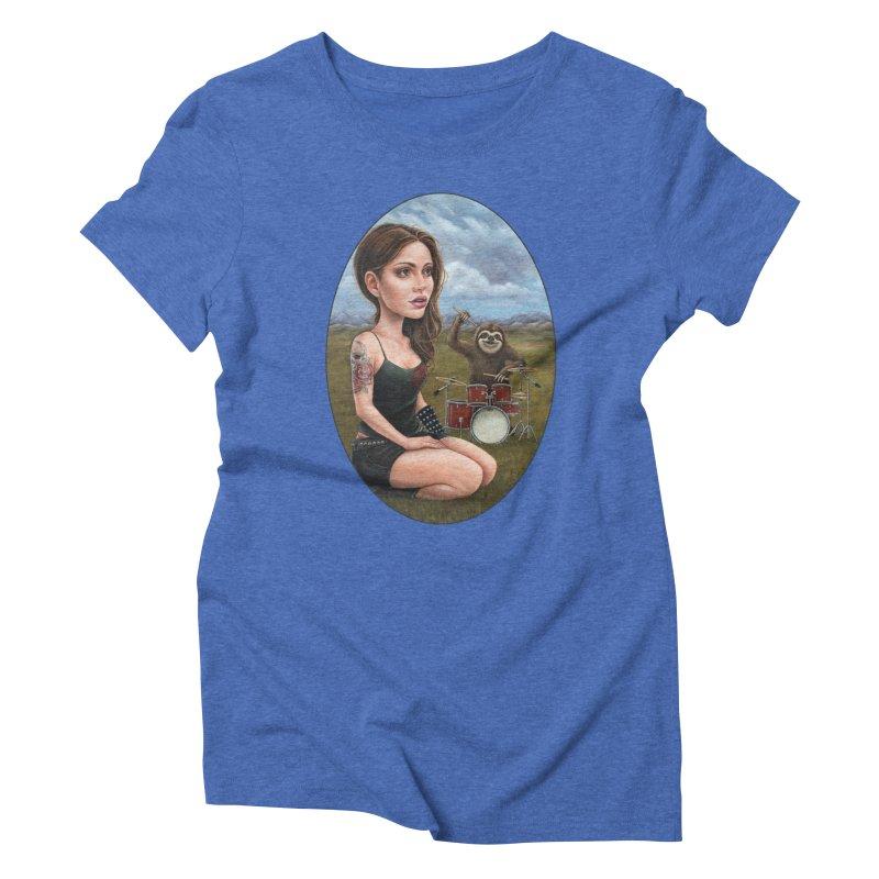 Slow Jam Women's Triblend T-Shirt by Ken Keirns