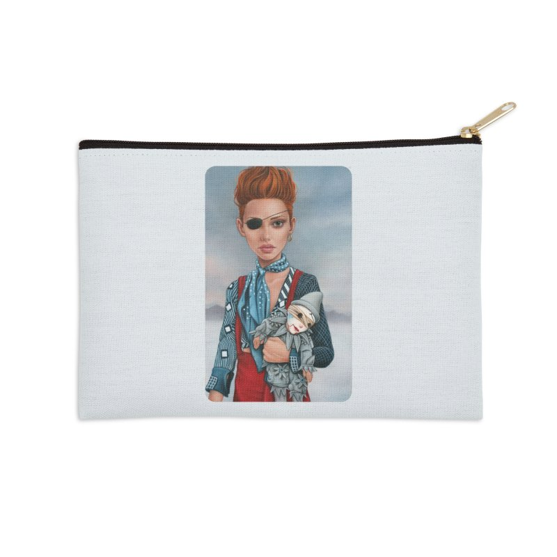 Ashes Accessories Zip Pouch by Ken Keirns