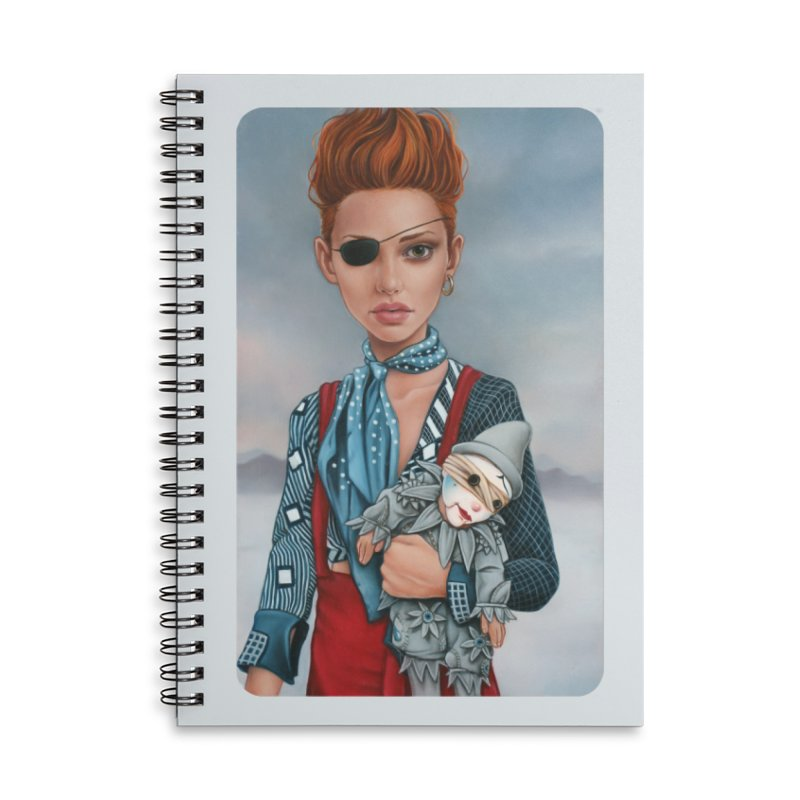 Ashes Accessories Lined Spiral Notebook by Ken Keirns