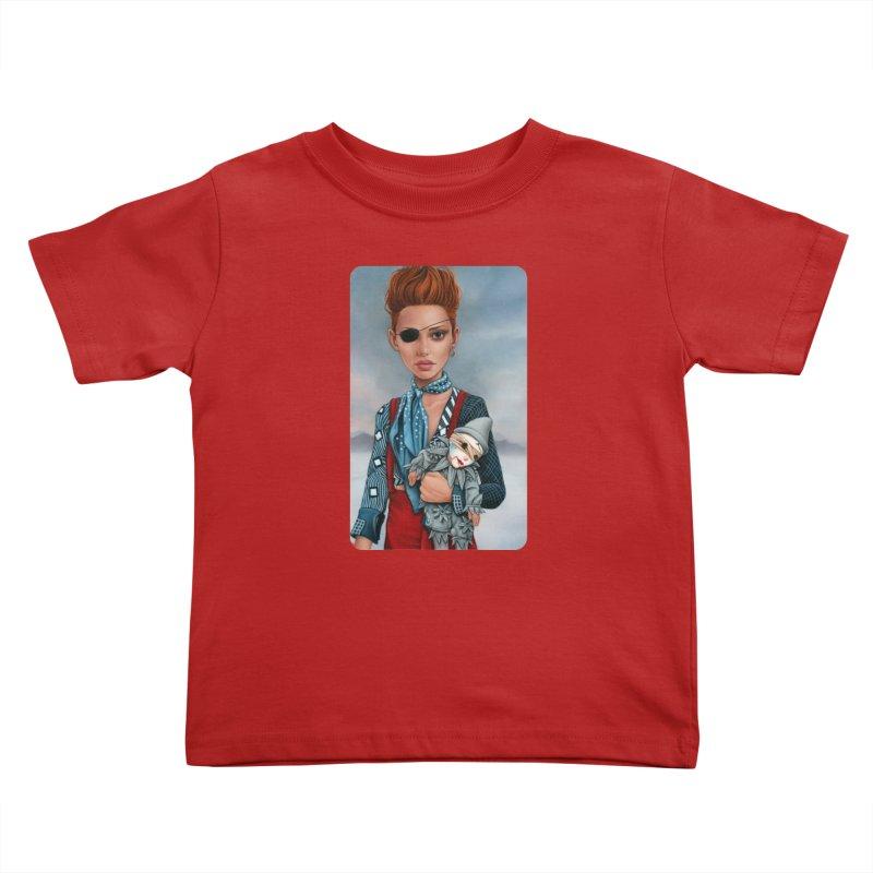 Ashes Kids Toddler T-Shirt by kenkeirns's Artist Shop