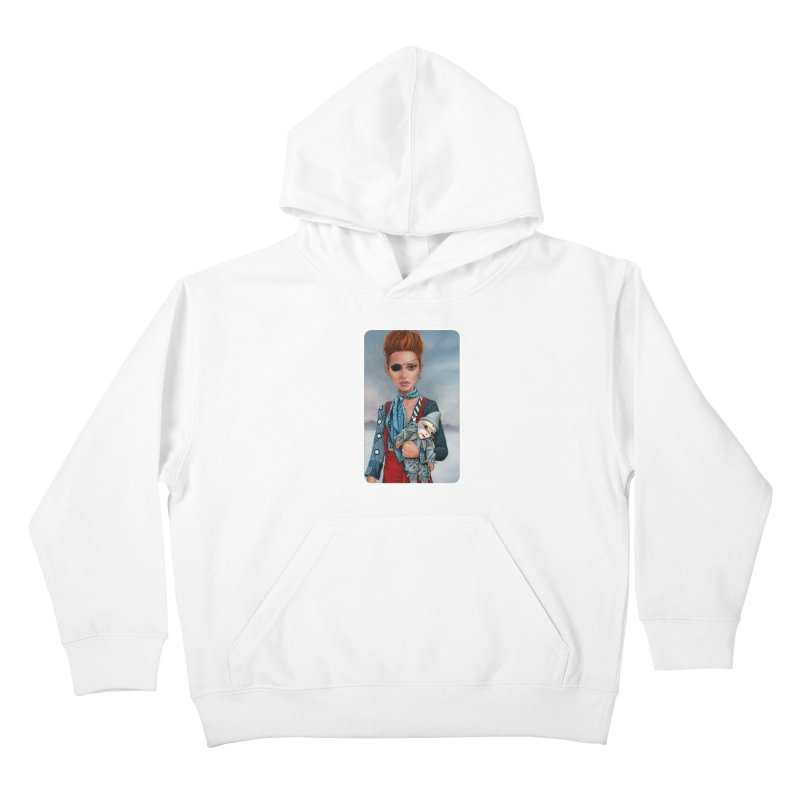 Ashes Kids Pullover Hoody by kenkeirns's Artist Shop