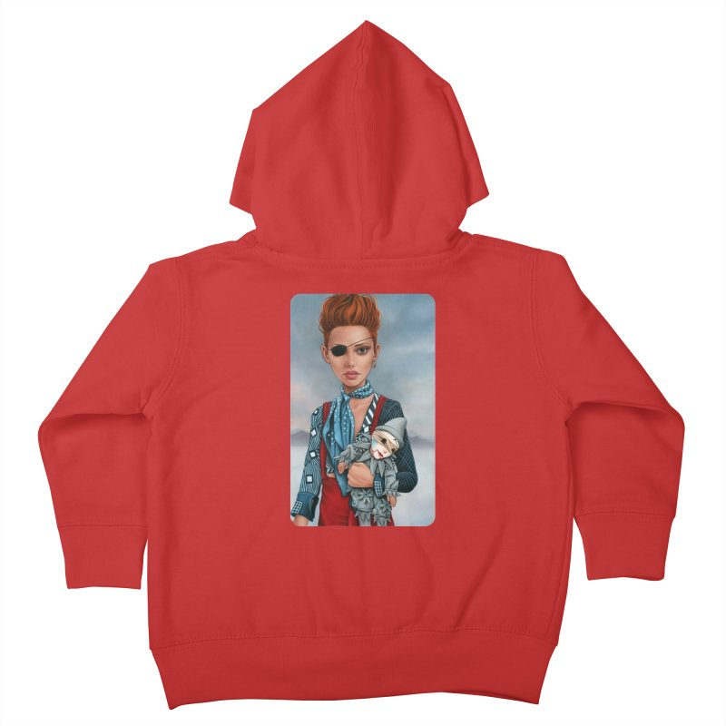 Ashes Kids Toddler Zip-Up Hoody by kenkeirns's Artist Shop