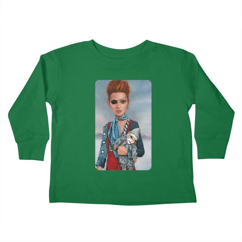 Ashes Kids Toddler Longsleeve T-Shirt by kenkeirns's Artist Shop