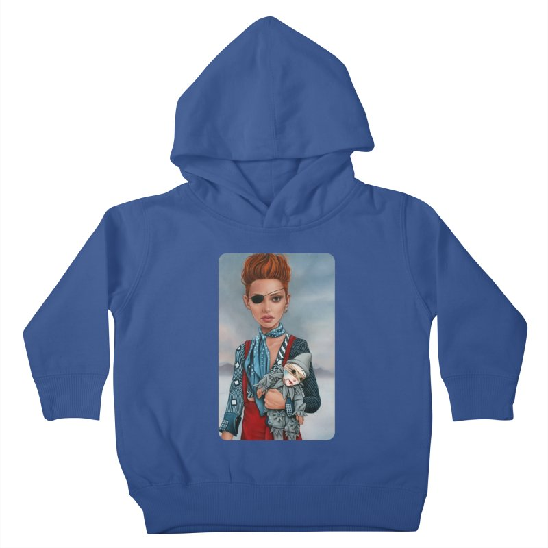 Ashes Kids Toddler Pullover Hoody by kenkeirns's Artist Shop