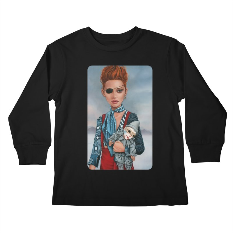 Ashes Kids Longsleeve T-Shirt by kenkeirns's Artist Shop