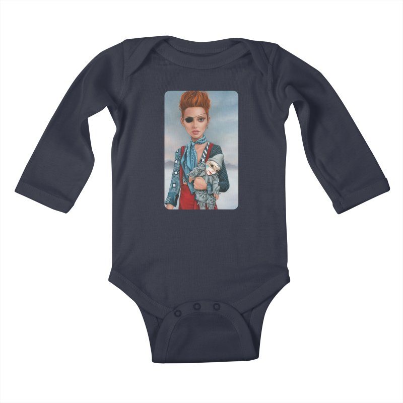 Ashes Kids Baby Longsleeve Bodysuit by Ken Keirns