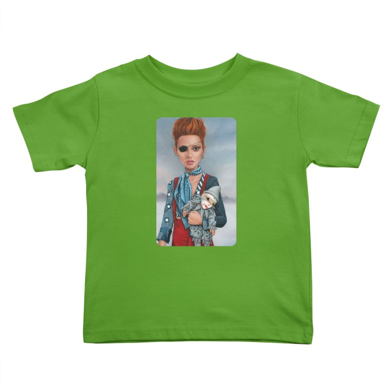 Ashes Kids Toddler T-Shirt by Ken Keirns