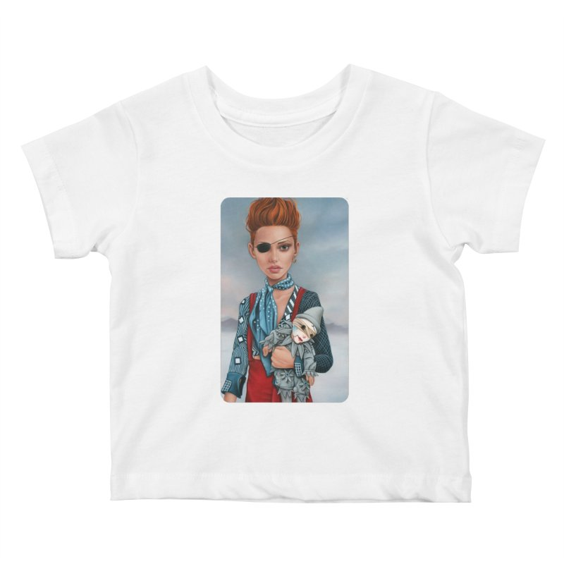 Ashes Kids Baby T-Shirt by Ken Keirns