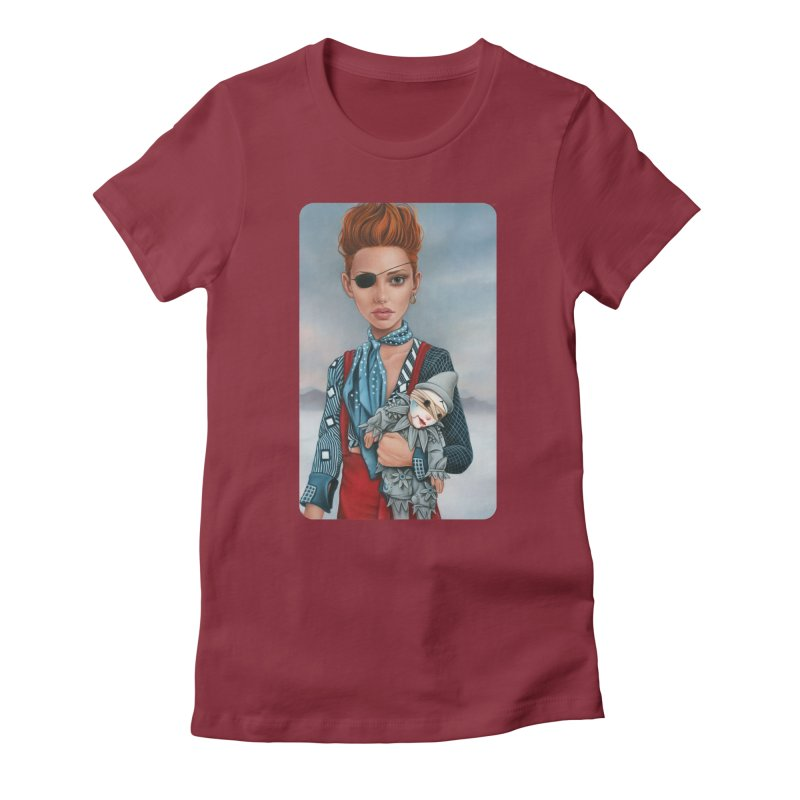 Ashes Women's Fitted T-Shirt by Ken Keirns