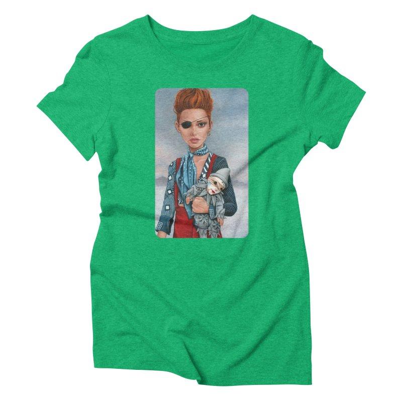 Ashes Women's Triblend T-Shirt by Ken Keirns