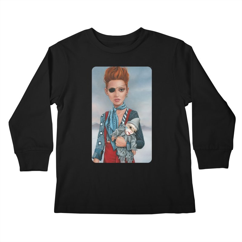 Ashes Kids Longsleeve T-Shirt by Ken Keirns