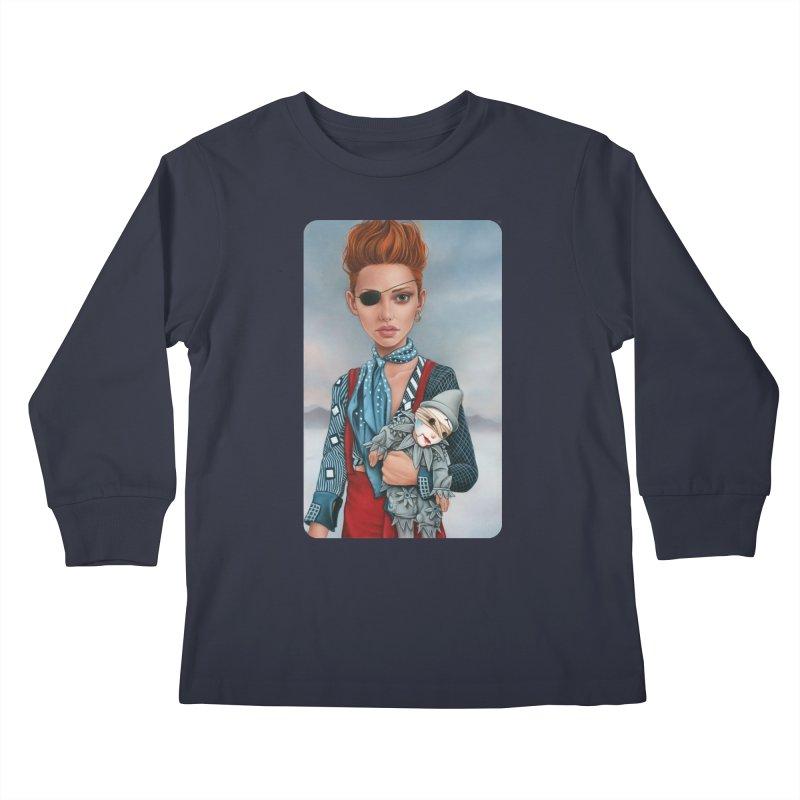 Ashes Kids Longsleeve T-Shirt by Ken Keirns