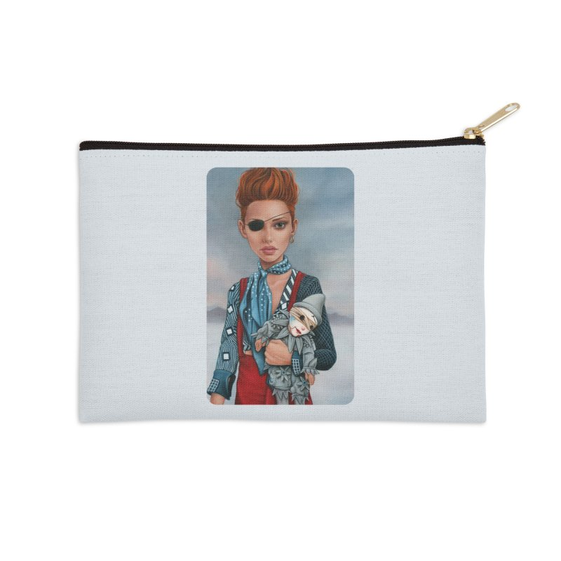 Ashes Accessories Zip Pouch by kenkeirns's Artist Shop
