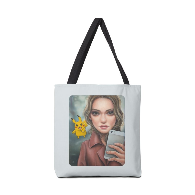 The Hunter Becomes the Hunted Accessories Tote Bag Bag by Ken Keirns