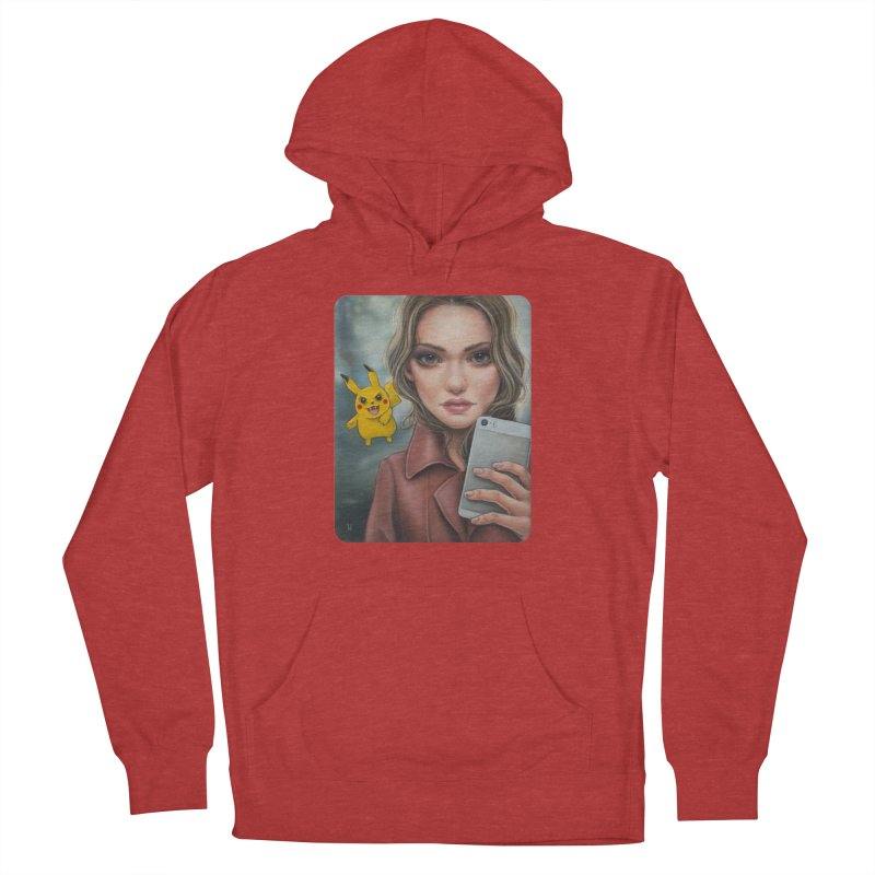 The Hunter Becomes the Hunted Women's Pullover Hoody by kenkeirns's Artist Shop