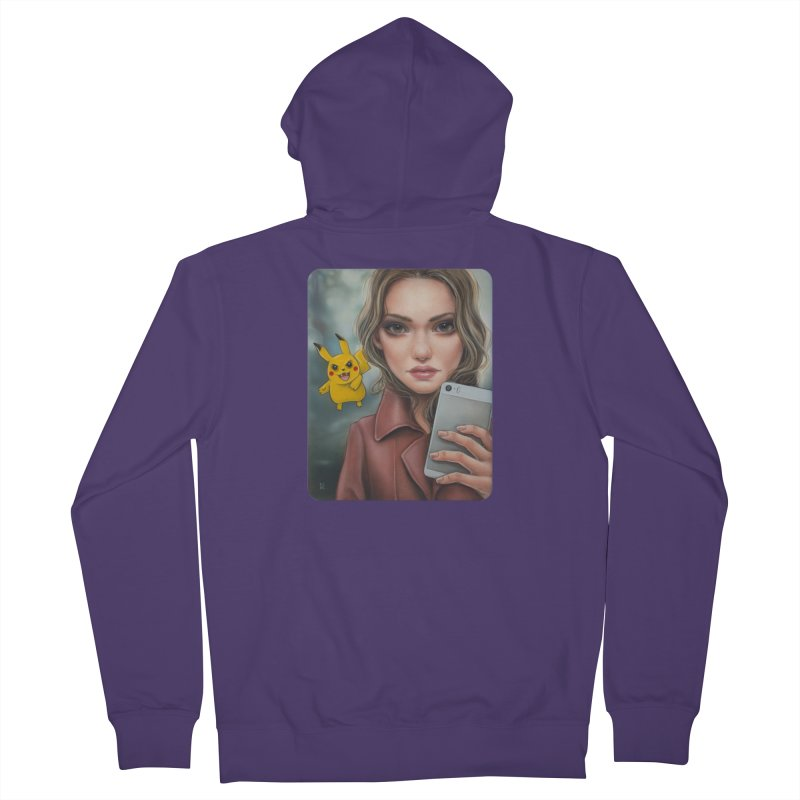 The Hunter Becomes the Hunted Women's Zip-Up Hoody by kenkeirns's Artist Shop