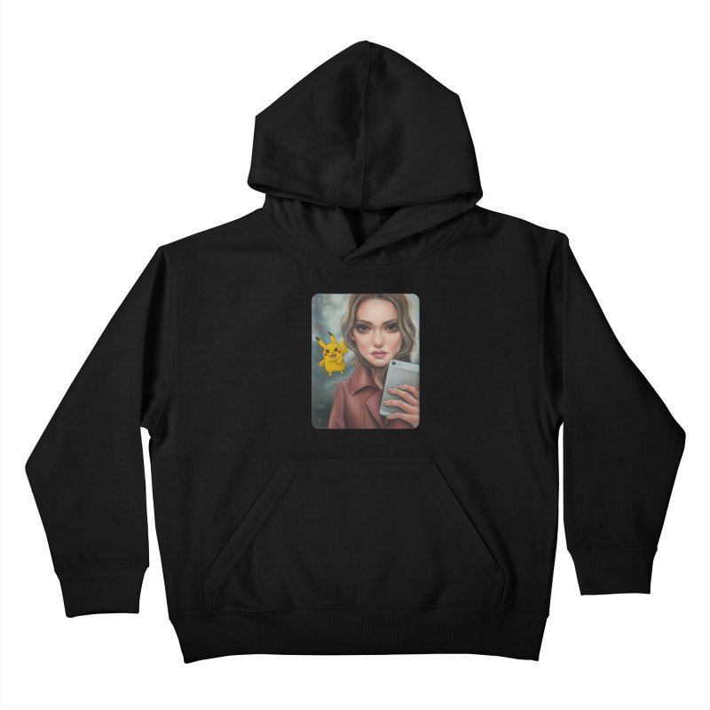 The Hunter Becomes the Hunted Kids Pullover Hoody by kenkeirns's Artist Shop