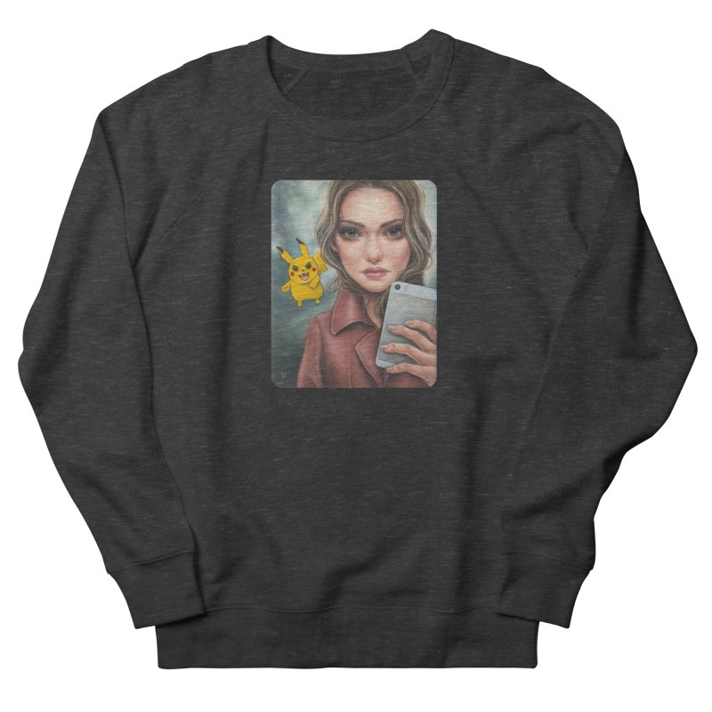 The Hunter Becomes the Hunted Men's French Terry Sweatshirt by Ken Keirns
