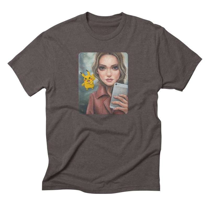 The Hunter Becomes the Hunted Men's Triblend T-Shirt by Ken Keirns