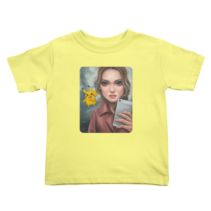 The Hunter Becomes the Hunted Kids Toddler T-Shirt by Ken Keirns