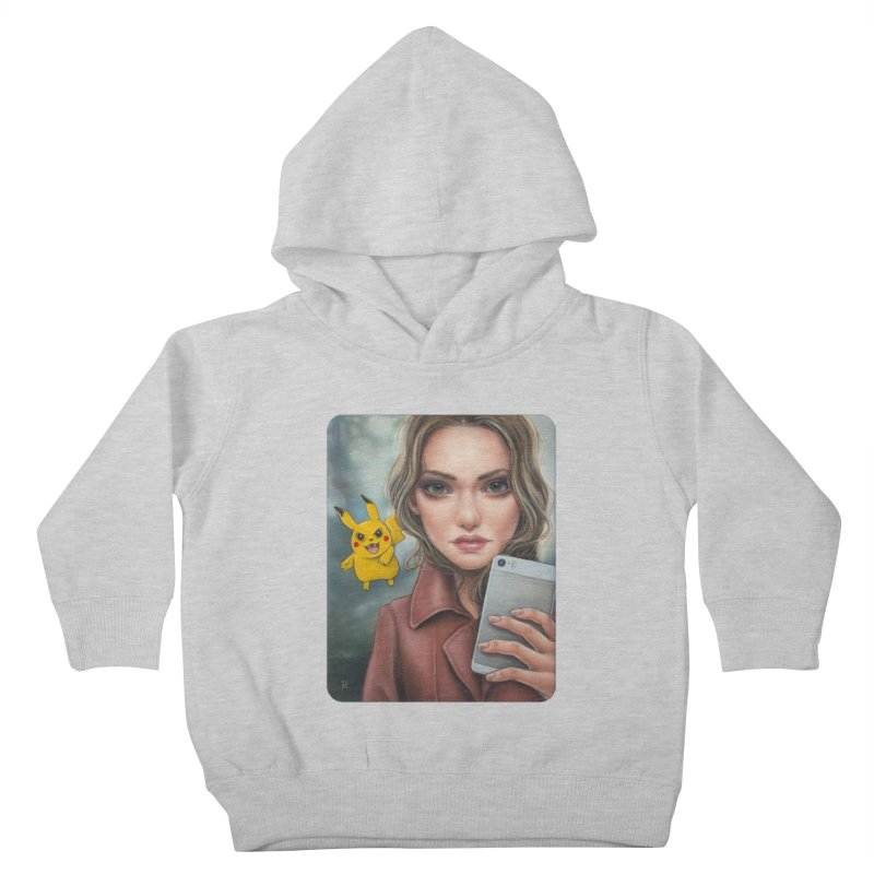 The Hunter Becomes the Hunted Kids Toddler Pullover Hoody by Ken Keirns