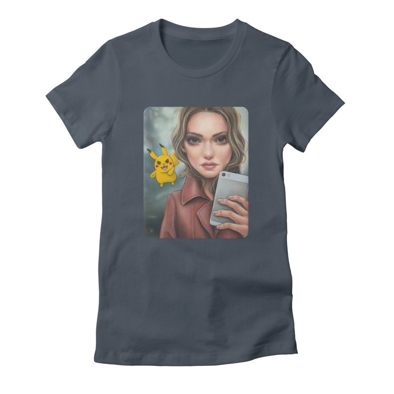 The Hunter Becomes the Hunted Women's T-Shirt by Ken Keirns