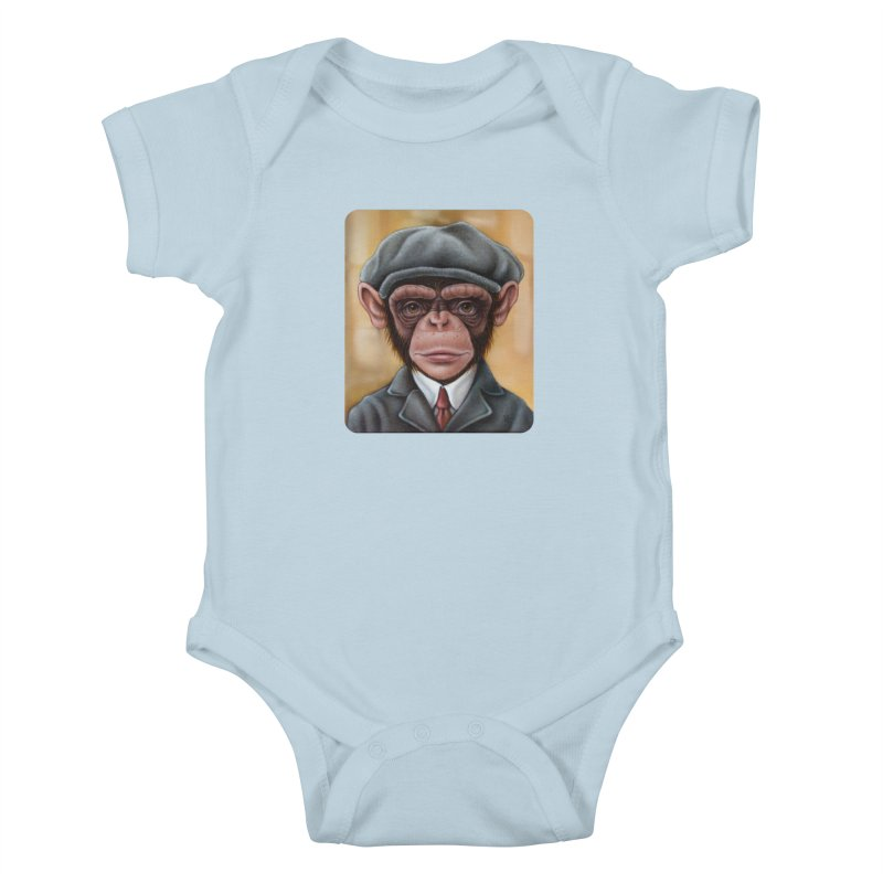 Owen Kids Baby Bodysuit by kenkeirns's Artist Shop