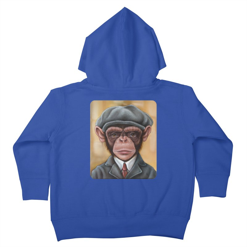 Owen Kids Toddler Zip-Up Hoody by kenkeirns's Artist Shop