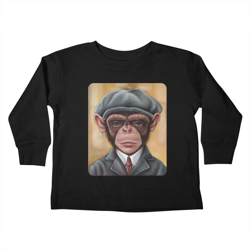 Owen Kids Toddler Longsleeve T-Shirt by kenkeirns's Artist Shop