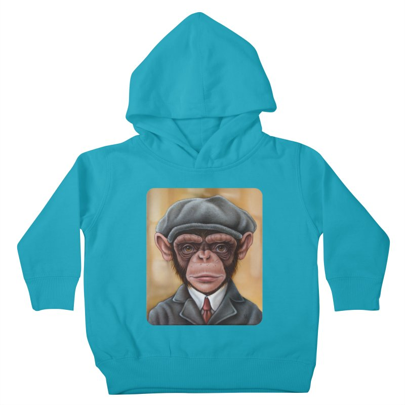 Owen Kids Toddler Pullover Hoody by kenkeirns's Artist Shop