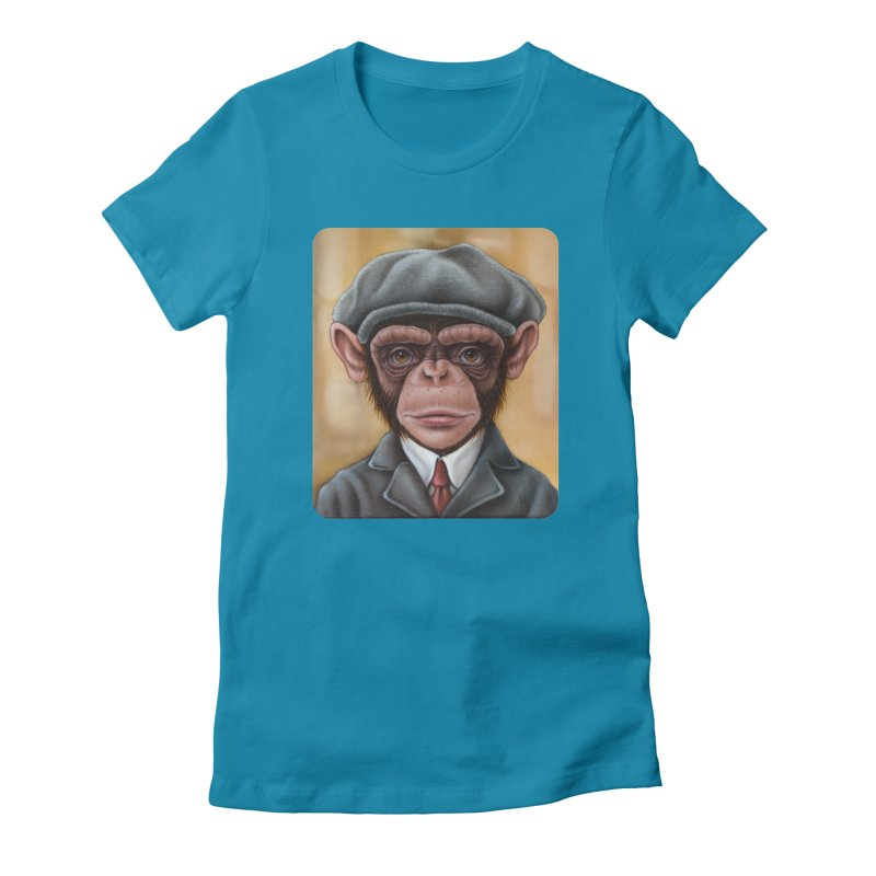 Owen Women's Fitted T-Shirt by kenkeirns's Artist Shop