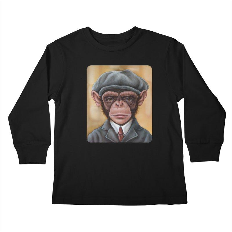 Owen Kids Longsleeve T-Shirt by kenkeirns's Artist Shop
