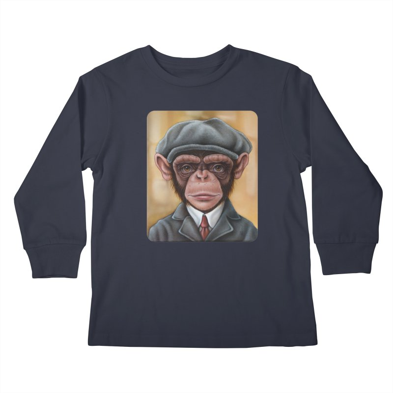 Owen Kids Longsleeve T-Shirt by kenkeirns's Artist Shop