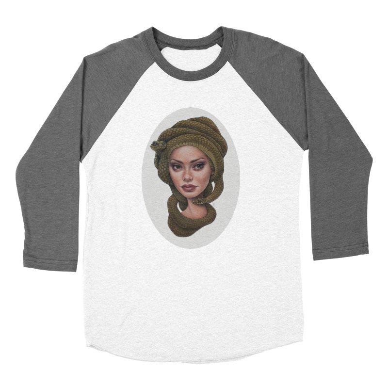 The Devil's 'do Men's Baseball Triblend T-Shirt by kenkeirns's Artist Shop