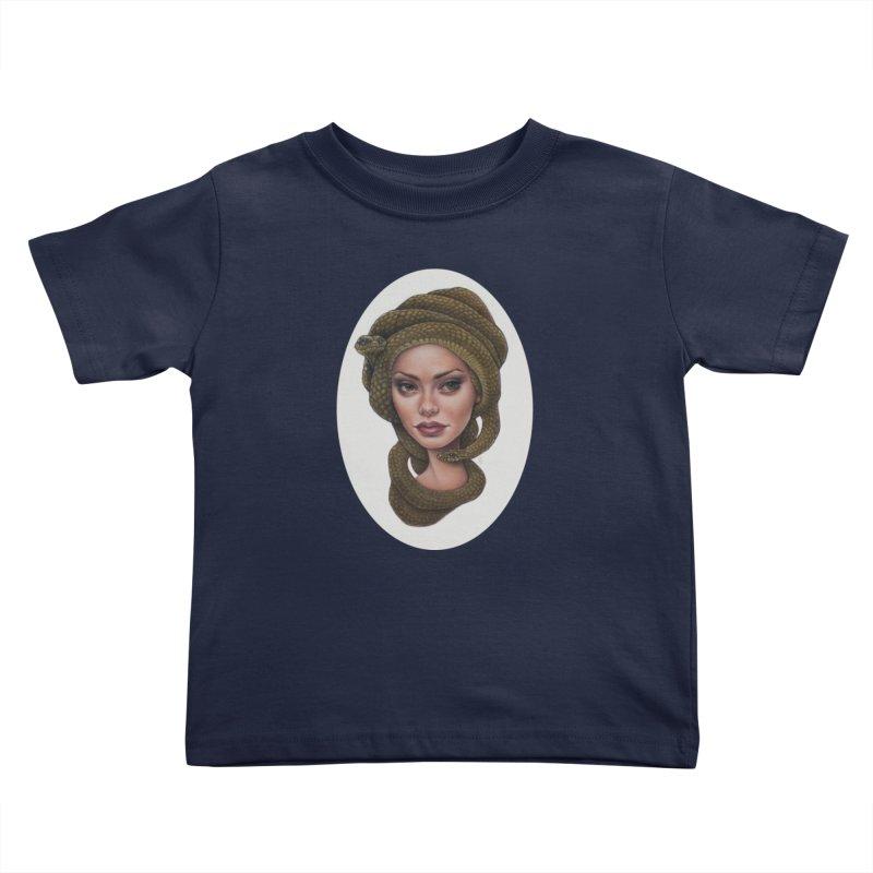 The Devil's 'do Kids Toddler T-Shirt by kenkeirns's Artist Shop