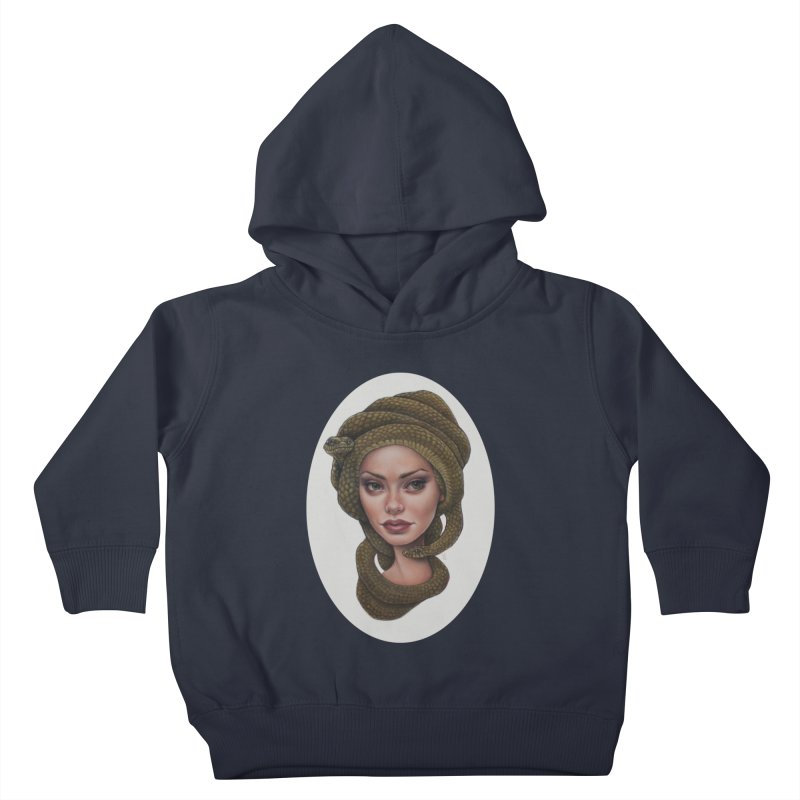 The Devil's 'do Kids Toddler Pullover Hoody by kenkeirns's Artist Shop