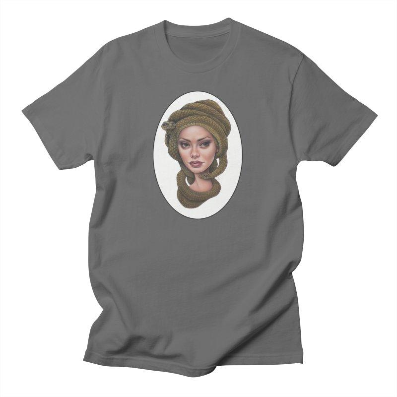 The Devil's 'do Women's T-Shirt by Ken Keirns