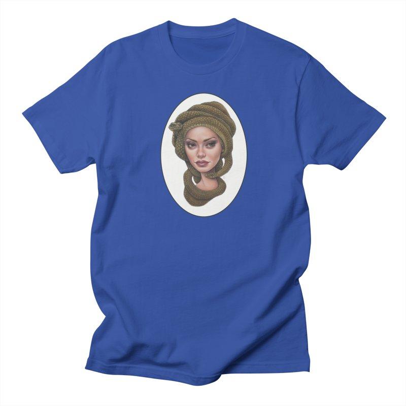 The Devil's 'do Women's Regular Unisex T-Shirt by Ken Keirns