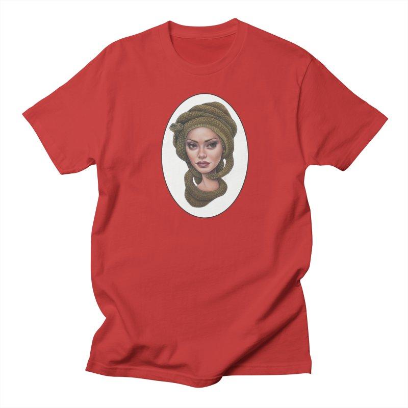 The Devil's 'do Men's T-Shirt by Ken Keirns