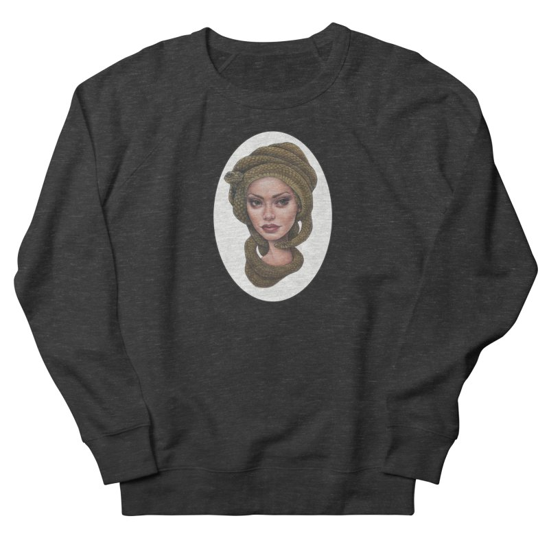 The Devil's 'do Men's French Terry Sweatshirt by Ken Keirns