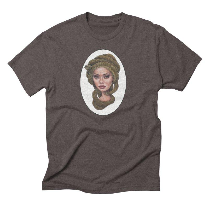 The Devil's 'do Men's Triblend T-Shirt by Ken Keirns