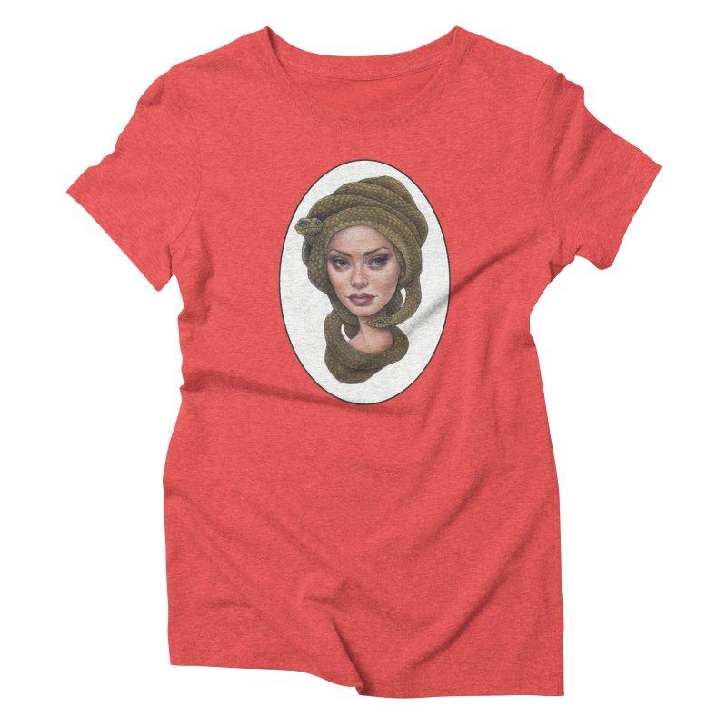 The Devil's 'do Women's Triblend T-Shirt by Ken Keirns
