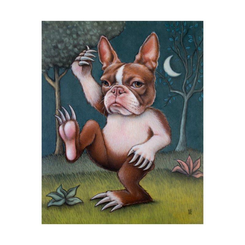 Grumpy Rumpus (entire painting) by kenkeirns's Artist Shop