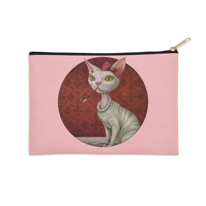 Aging Gracefully Accessories Zip Pouch by kenkeirns's Artist Shop