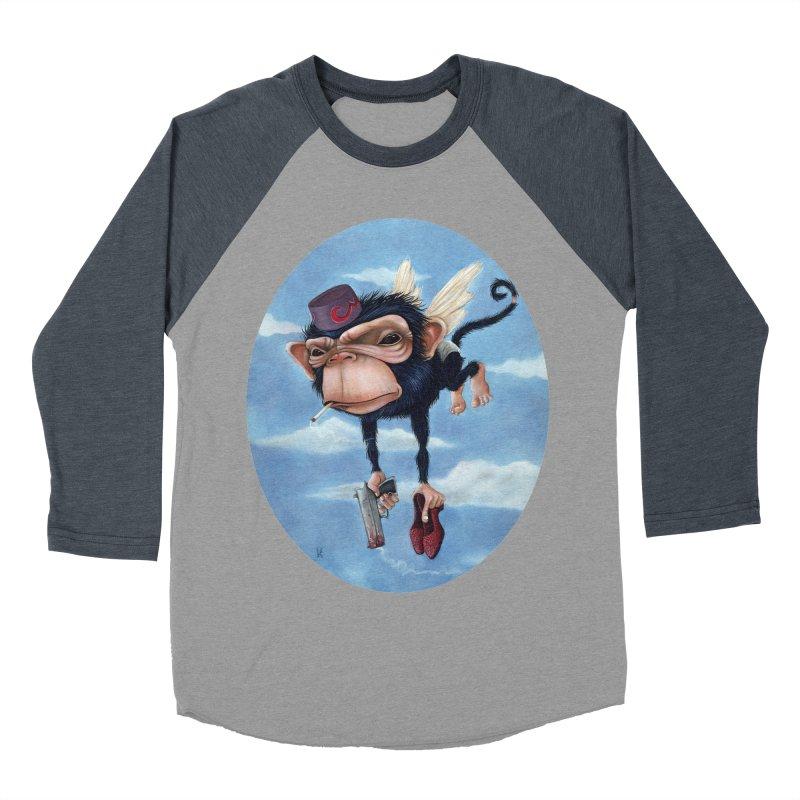 Surrender Dorothy... You Bitch Men's Baseball Triblend T-Shirt by kenkeirns's Artist Shop