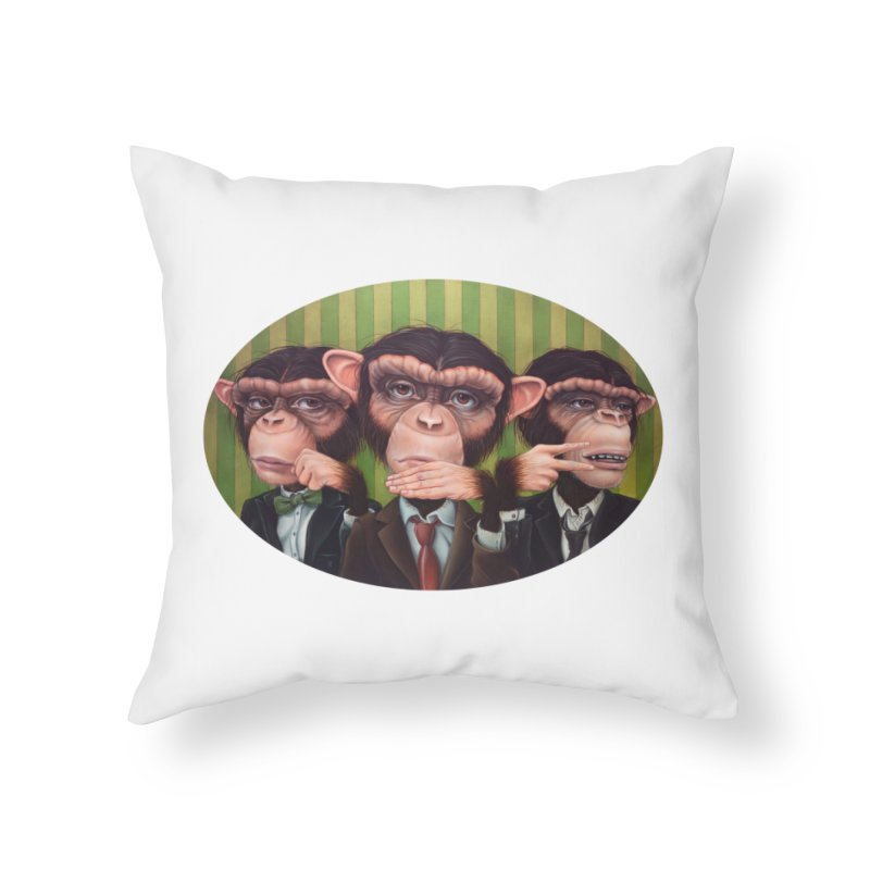 Ro Sham Bo Home Throw Pillow by Ken Keirns