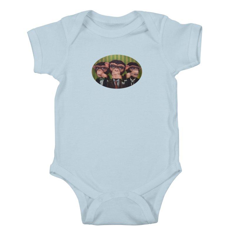 Ro Sham Bo Kids Baby Bodysuit by kenkeirns's Artist Shop