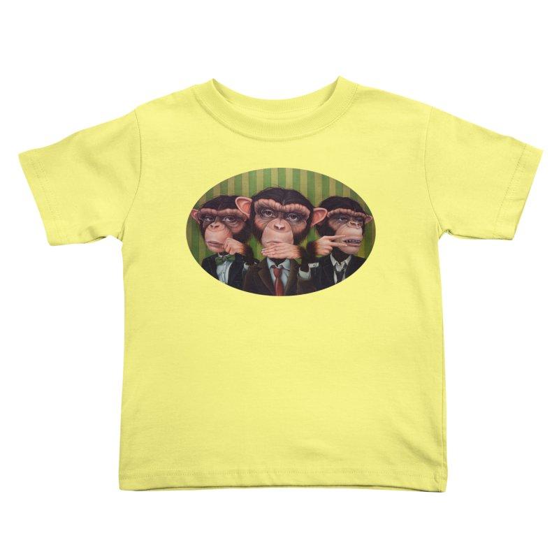 Ro Sham Bo Kids Toddler T-Shirt by kenkeirns's Artist Shop