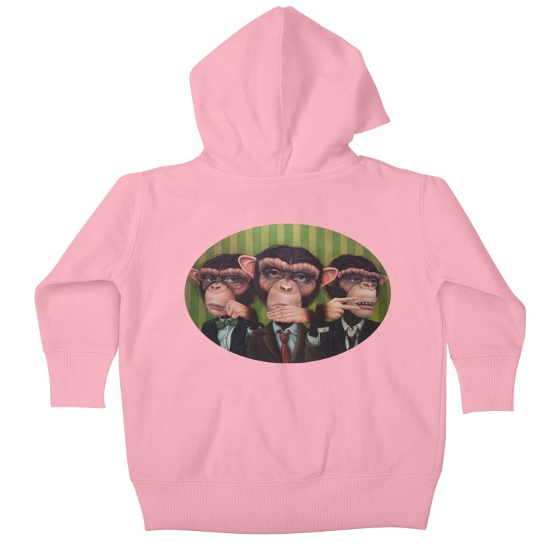 Ro Sham Bo Kids Baby Zip-Up Hoody by kenkeirns's Artist Shop