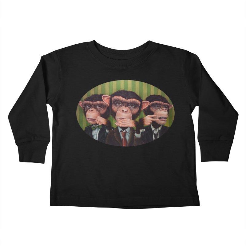 Ro Sham Bo Kids Toddler Longsleeve T-Shirt by kenkeirns's Artist Shop